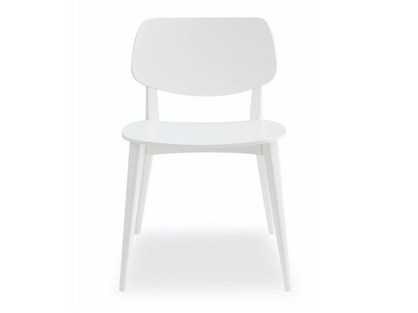 Beech chair DOLL 550 by Billiani