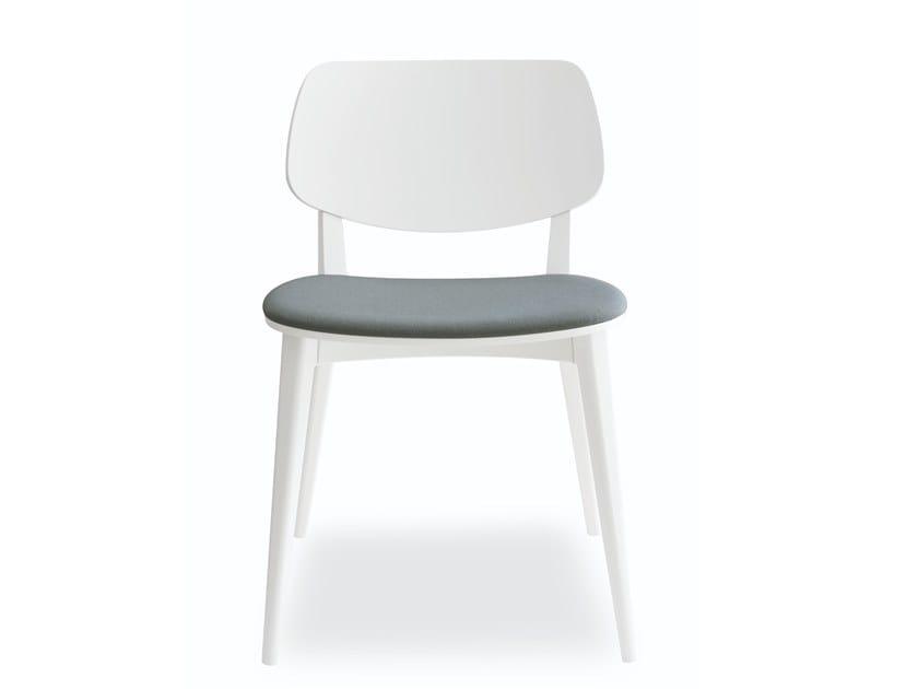 Beech chair DOLL 551 by Billiani