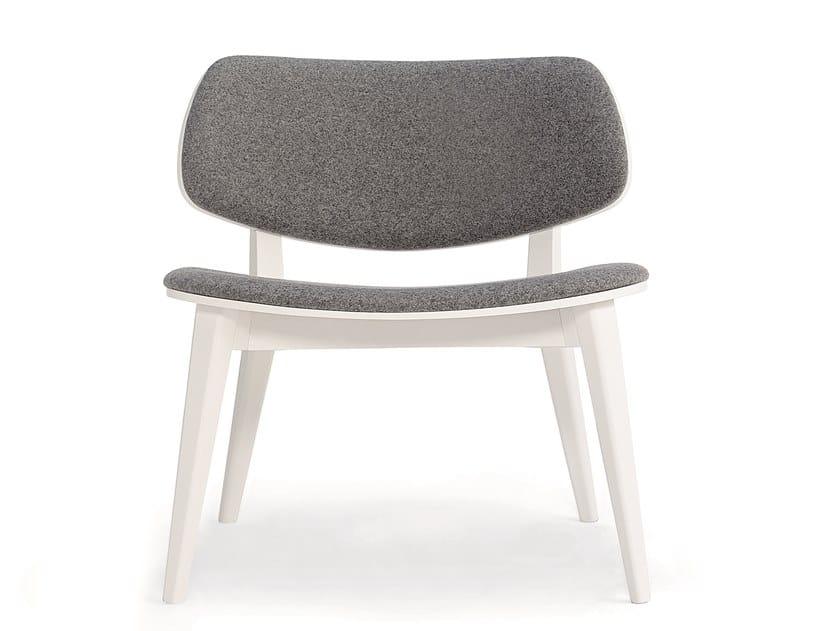 Fabric easy chair DOLL 562 by Billiani