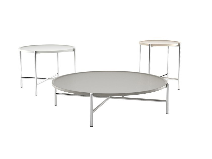 Lacquered round coffee table DOLLY | Coffee table by ESTEL GROUP