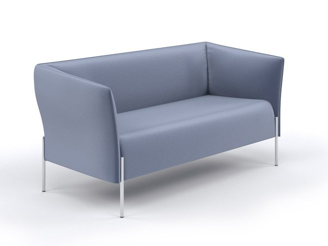 2 seater leather sofa DOLLY | Sofa by ESTEL GROUP