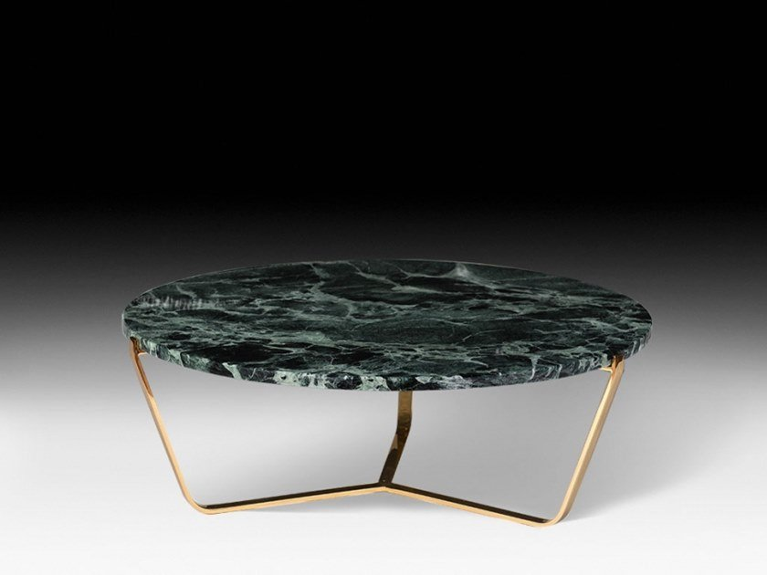 Low round coffee table DOLOMITI | Marble coffee table by VGnewtrend