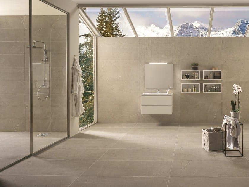 Porcelain stoneware wall/floor tiles DOLOMITI SABBIA by La Fabbrica