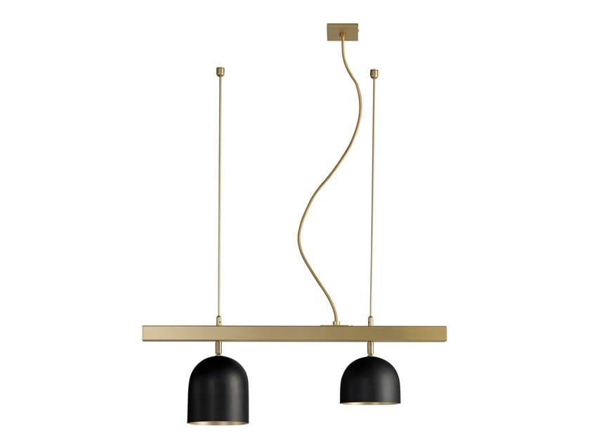 Lampada a sospensione a LED in acciaio DOME | Lampada a sospensione a LED by Marchetti