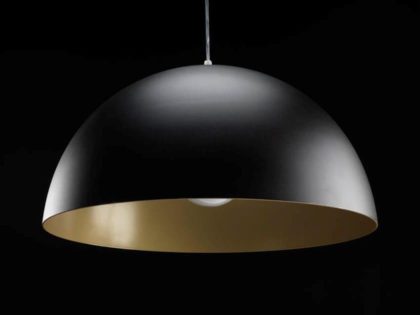 Lampada a sospensione alogena in alluminio verniciato a polvere DOME MINI by LUNOO