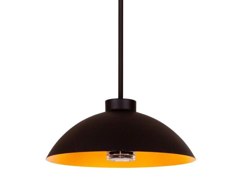 Lampada a sospensione per esterno con riscaldamento DOME PENDANT by Heatsail
