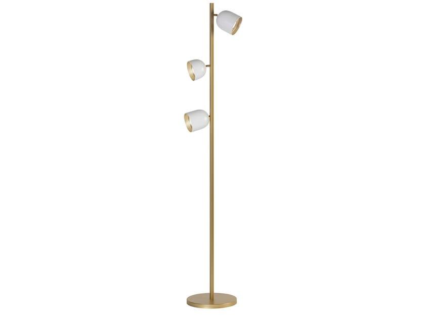 Lampada da terra a LED in acciaio DOME   Lampada da terra by Marchetti