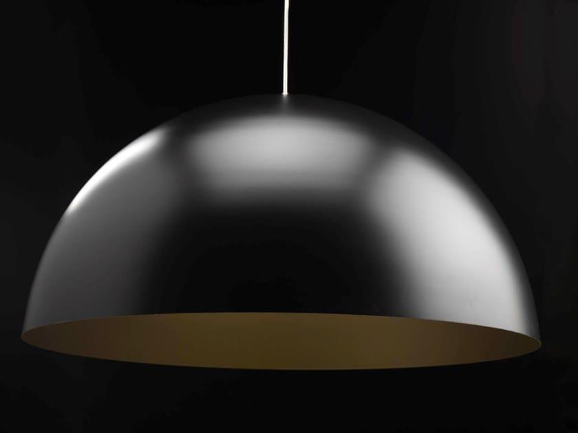 Lampada a sospensione alogena in alluminio verniciato a polvere DOME by LUNOO