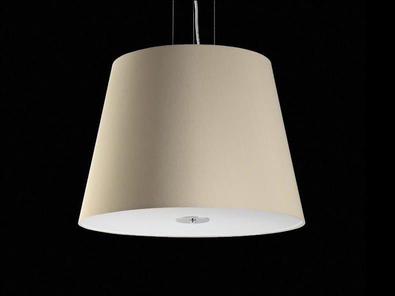 Lampada a sospensione a LED a luce diretta DOMENIQUE by Aiardini