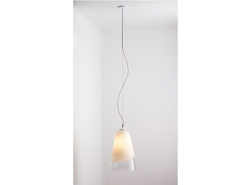 Blown glass pendant lamp DOMI | Pendant lamp by Articolo Lighting