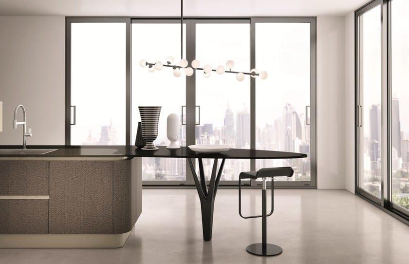 DOMINA | Кухонный гарнитур By Aster Cucine S.p.A. дизайн Lorenzo ...