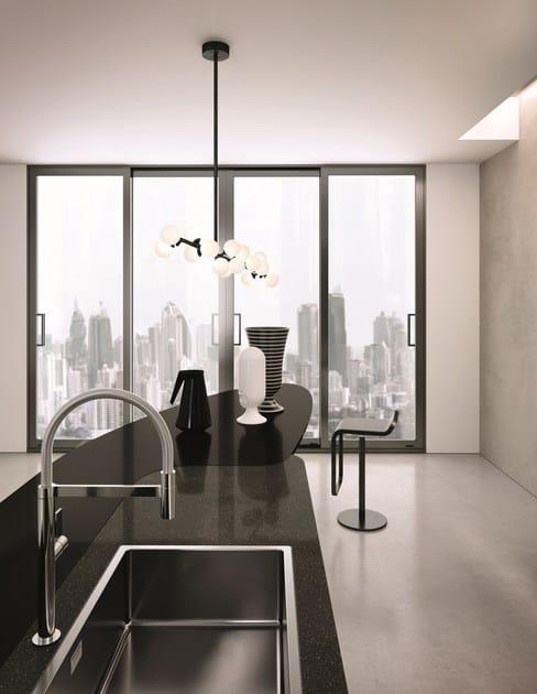 DOMINA | Kitchen with island By Aster Cucine S.p.A. design Lorenzo ...