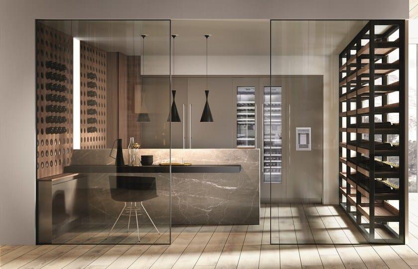Popolare DOMINA | Cucina con penisola By Aster Cucine S.p.A. design Lorenzo  HT51