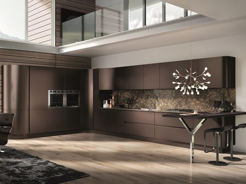 Cucine Moderne Curve.Domina Linear Kitchen By Aster Cucine Design Lorenzo