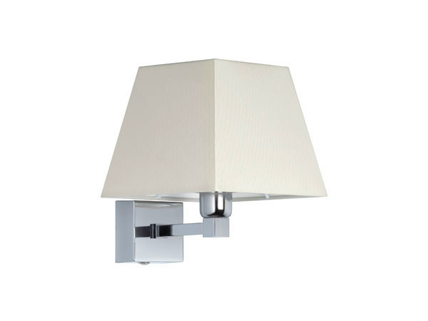 Canvas wall light with fixed arm DOMINIQUE 15-9 by Quicklighting