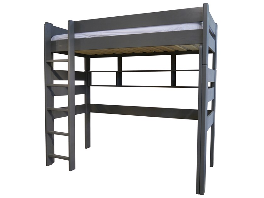 Loft wooden bed DOMINIQUE 186 | Loft bed by Mathy by Bols