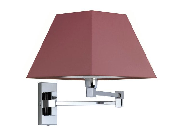 Canvas wall light DOMINIQUE 22-35 by Quicklighting