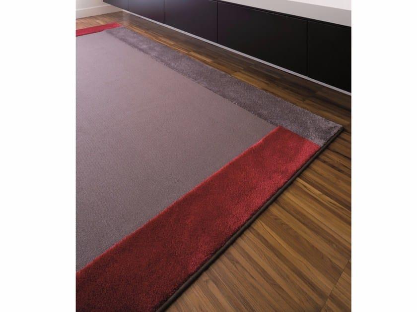 Handmade fabric rug DOMINO by Besana Moquette