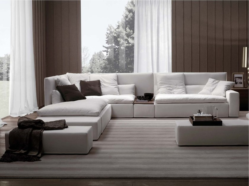 Domino high back sofa by frigerio salotti for Poltrone e poltrone