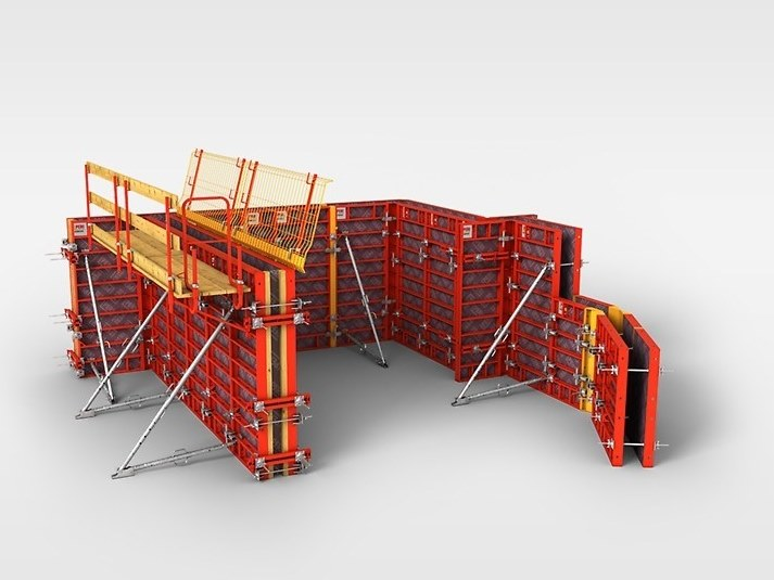 Panel formwork DOMINO By PERI