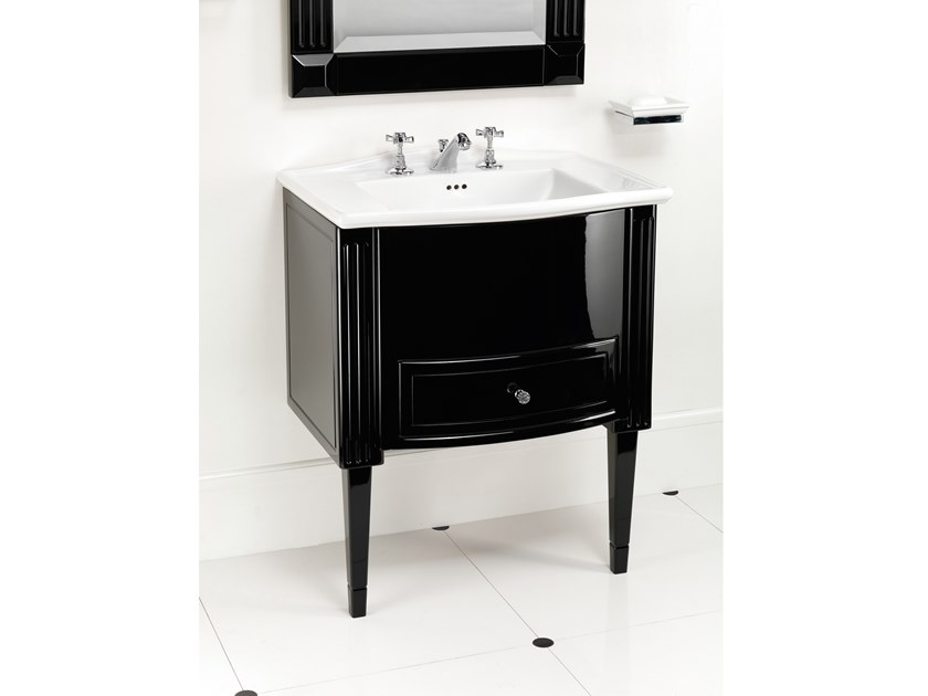 Lacquered vanity unit with drawers DOMINO WESTMINSTER by Devon&Devon