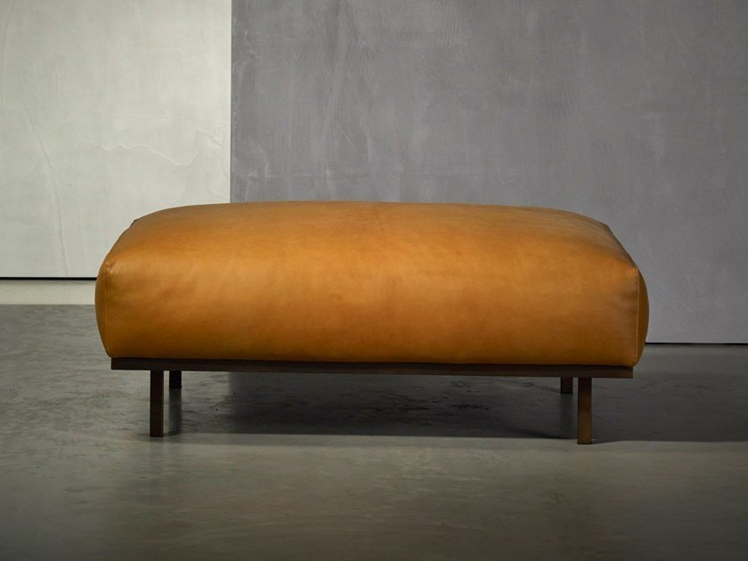 Fabric footstool DON LIVING | Footstool by Piet Boon