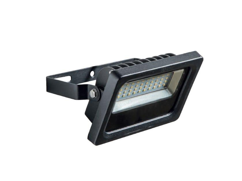 Proiettore per esterno a led in alluminio pressofuso don by