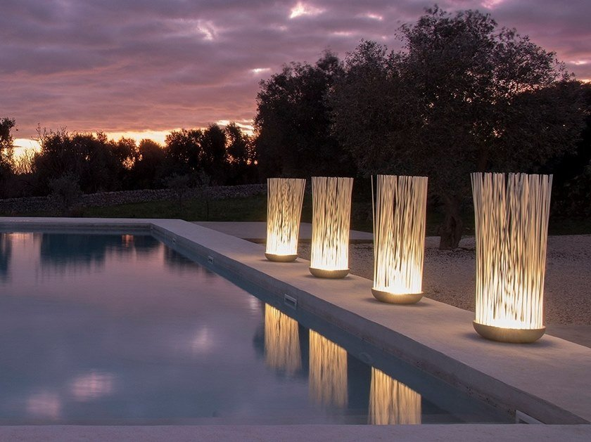 Lampade da terra per esterno illuminazione per esterni