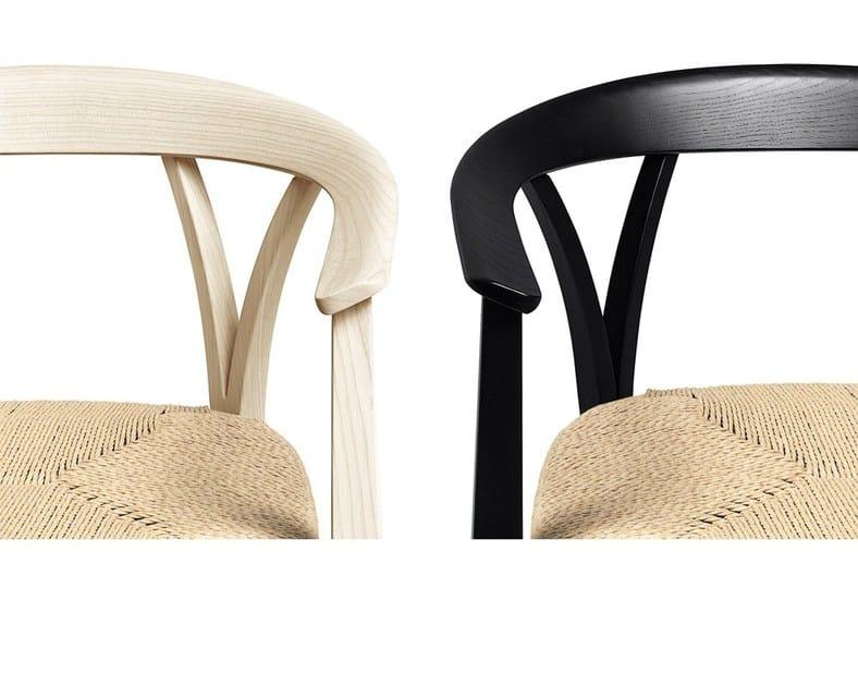 Sedia in frassino con braccioli DONZELLETTA By DE PADOVA design ...