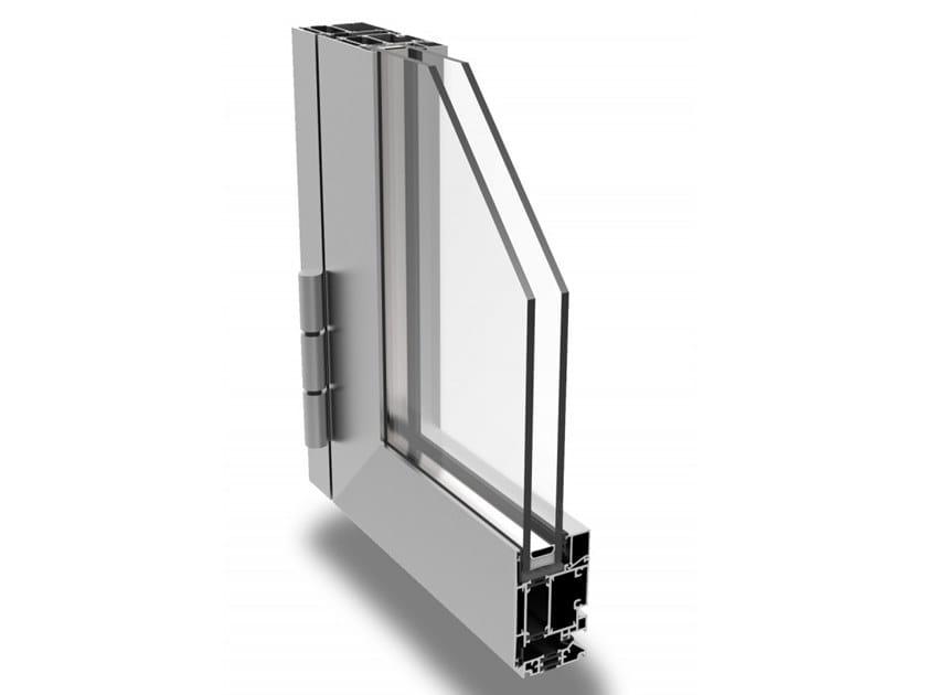 Aluminium patio door DOOR 62/72 by ALsistem