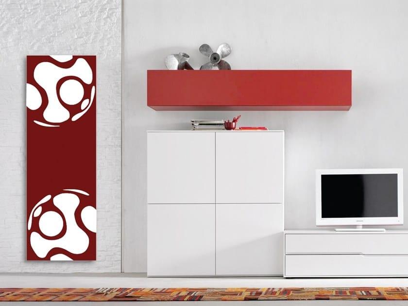 Radiatore / termoarredo in alluminio Doppia piastra by Termoarredo Design