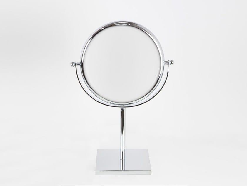 Doppiolino specchio ingranditore da appoggio collezione doppiolo