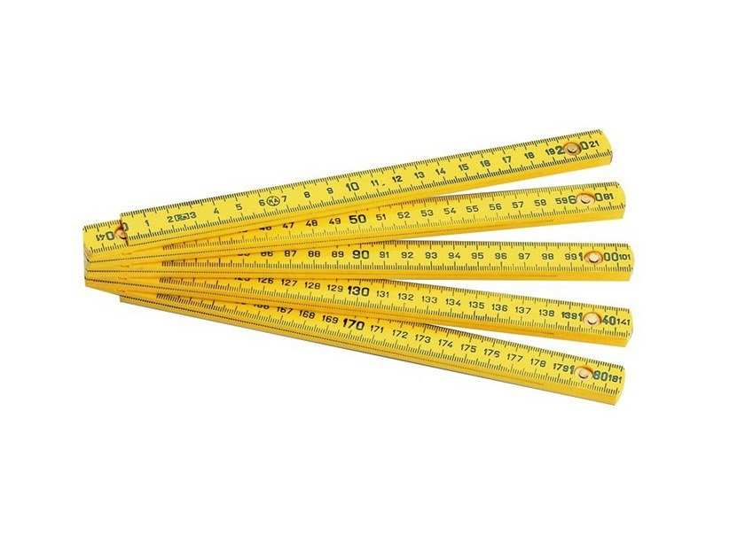 Length measuring tools DOPPIOMETRO IN PLASTICA by KAPRIOL