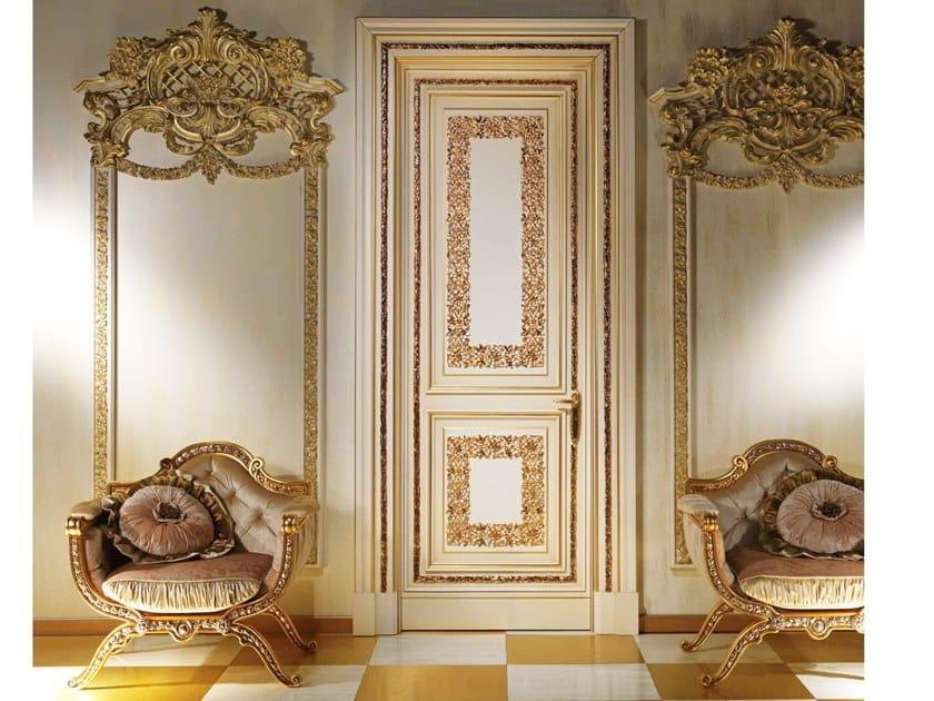 Hinged wooden door DORADO by Arnaboldi Interiors