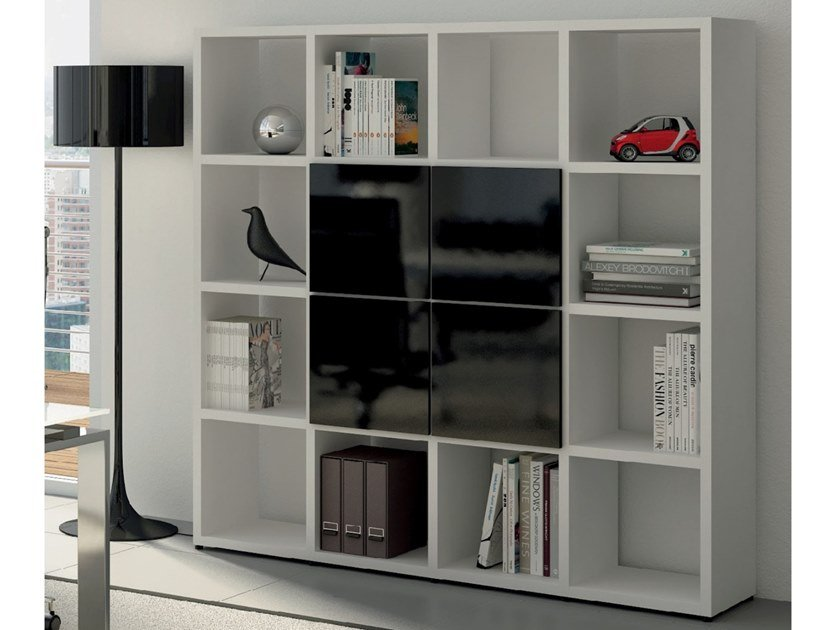 Modular office shelving DORIA CUBE by CUF Milano