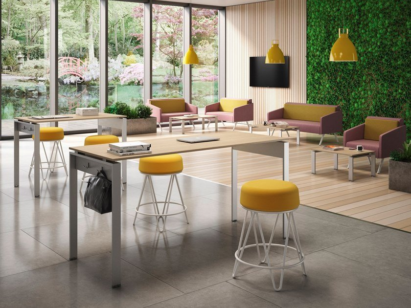 Rectangular meeting table DORIA | Meeting table by CUF Milano