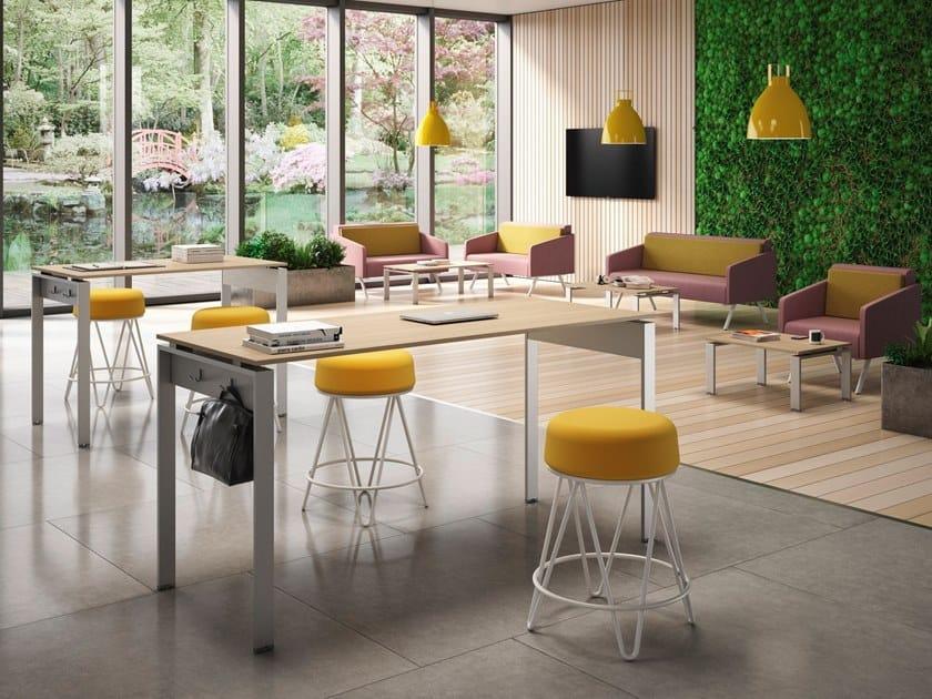 Tavolo da riunione rettangolare DORIA | Tavolo da riunione ...