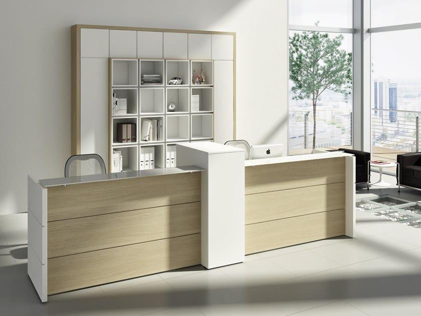 Office reception desk DORIA | Office reception desk by CUF Milano