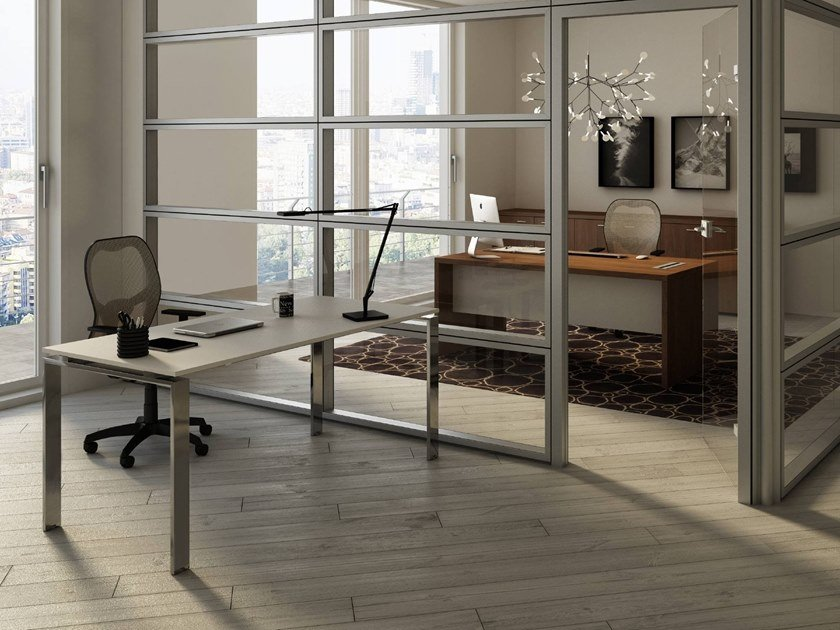 Rectangular office desk DORIA | Office desk by CUF Milano