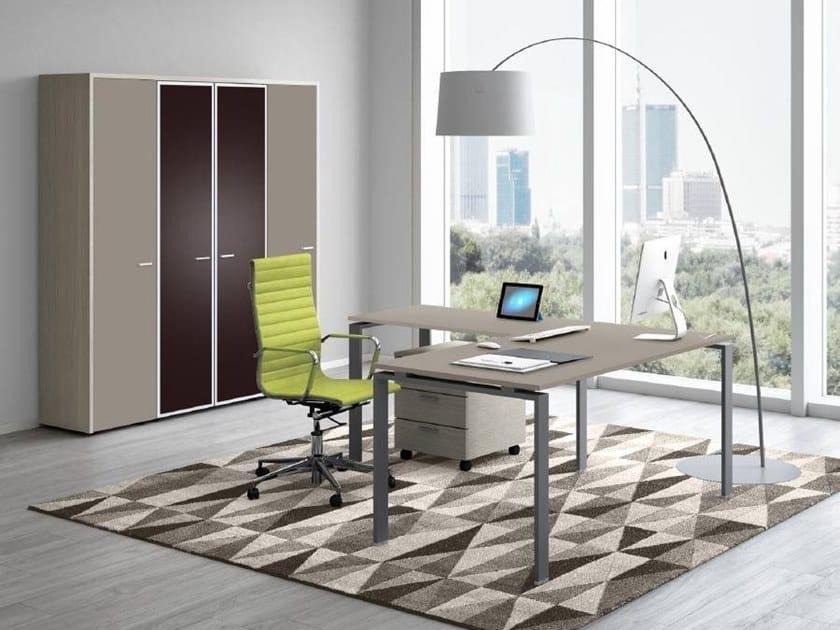 L-shaped office desk DORIA | L-shaped office desk by CUF Milano