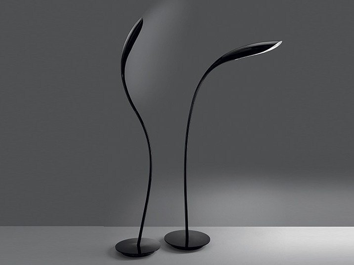 Adjustable metal floor lamp DORIDE by Artemide