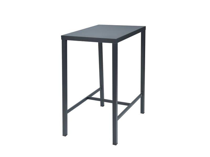 Rectangular galvanized steel high table DORIO | High table by RD Italia