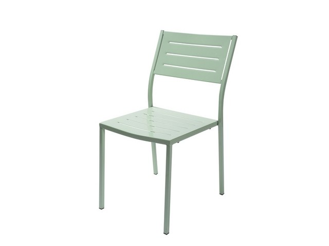 Galvanized steel garden chair DORIO1 by RD Italia