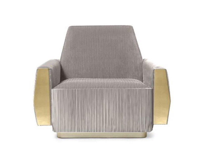 Fabric armchair with armrests DORIS   Armchair by Essential Home