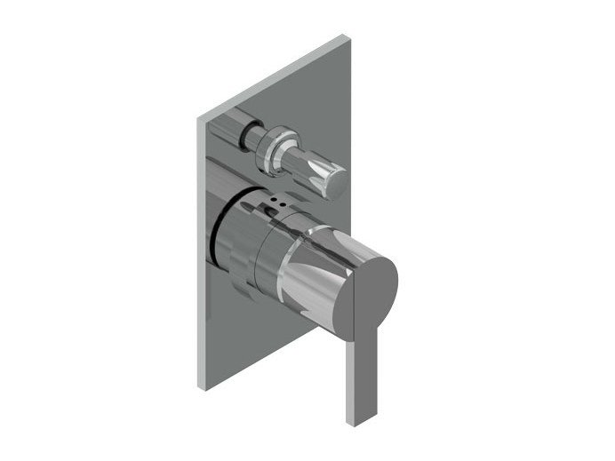 2 hole shower mixer with diverter DOROTEA   Shower mixer with diverter by Signorini