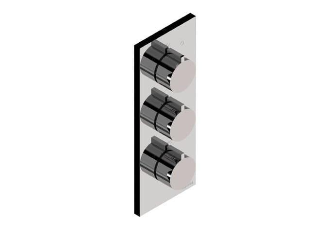 3 hole thermostatic shower mixer DOROTEA | Thermostatic shower mixer by Signorini
