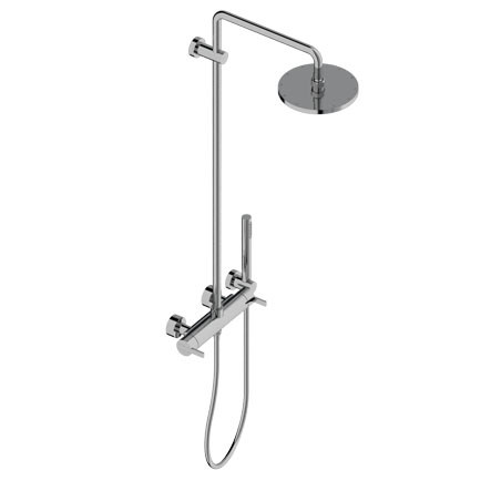 Shower tap with hand shower with overhead shower DOROTEA   Shower tap by Signorini