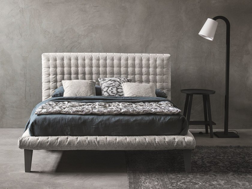 Bed with tufted headboard DOT by Letti&Co.