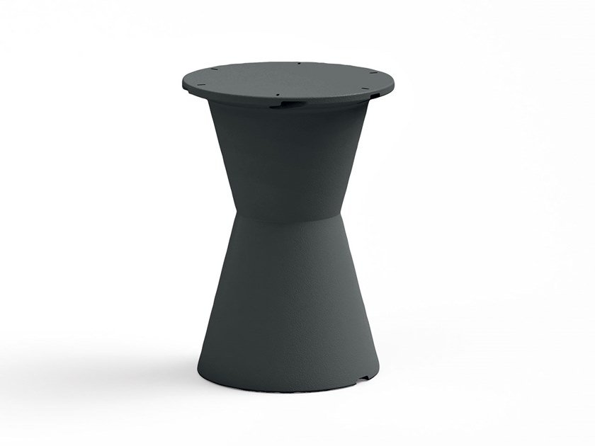 Polyethylene table base DOT   Table base by Lyxo Design