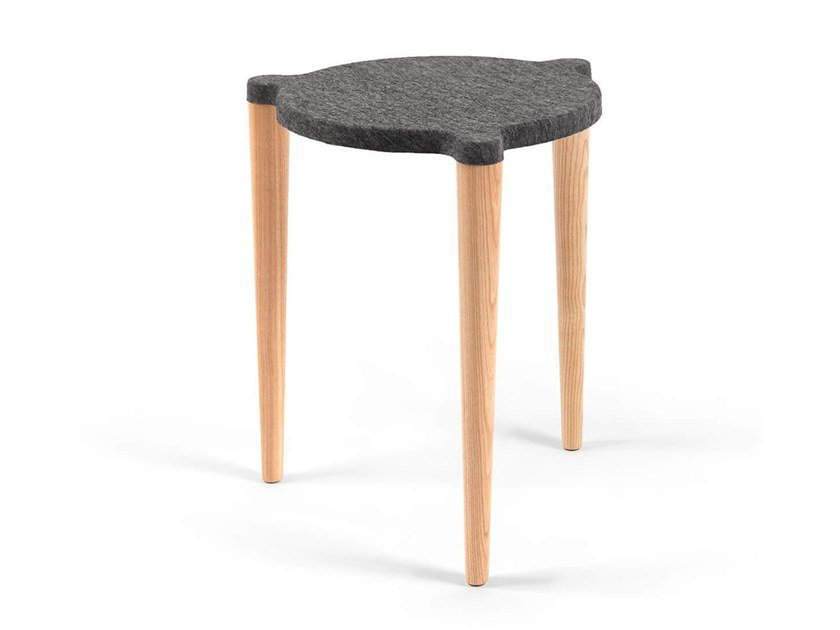 Stackable felt stool DOT by OOT OOT